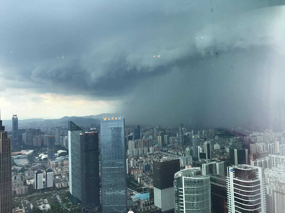 Noodweer en extreme neerslag in China